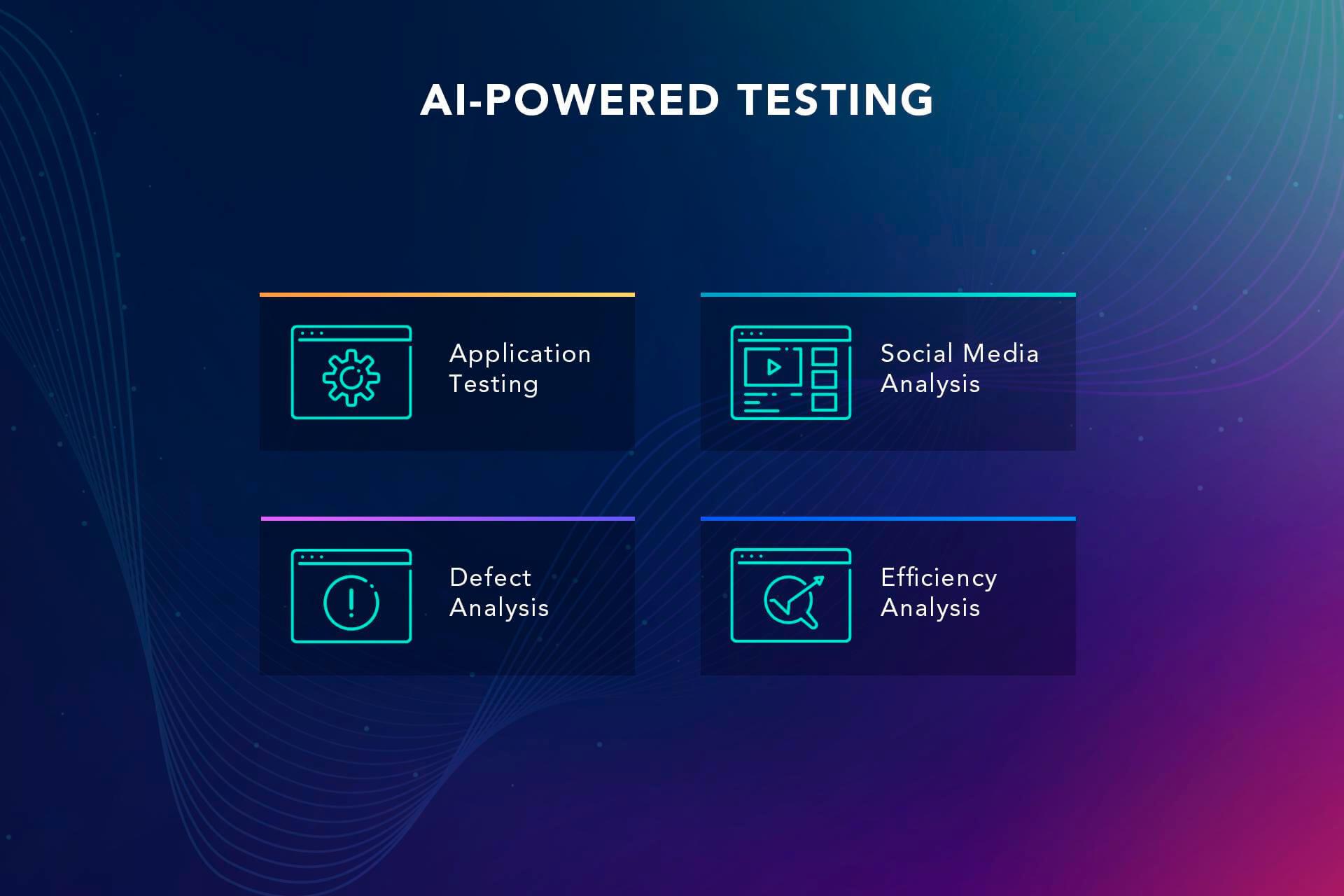 Software testing AI for QA