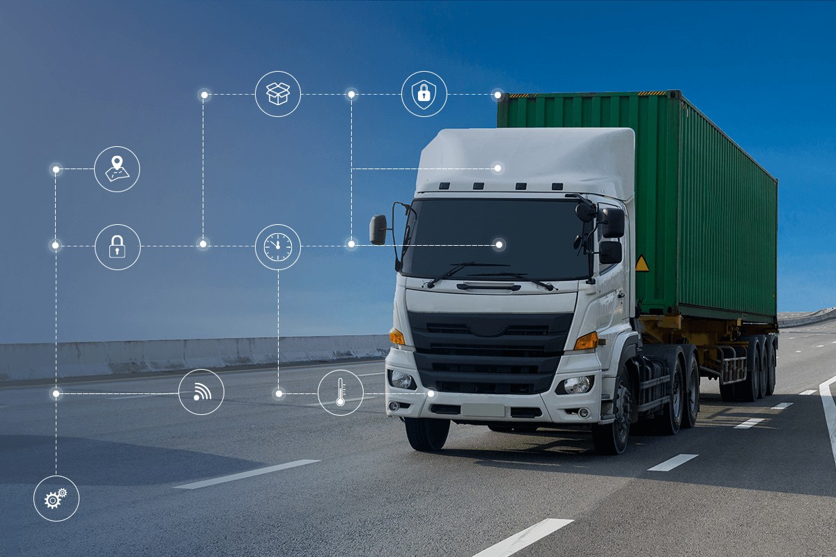GPS TRACKERS FOR LOGISTICS
