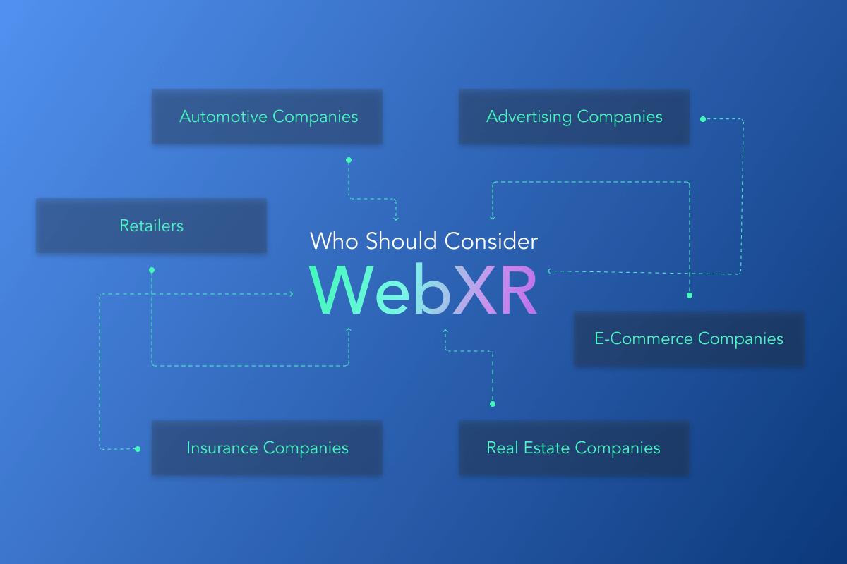 Who should consider WebXR