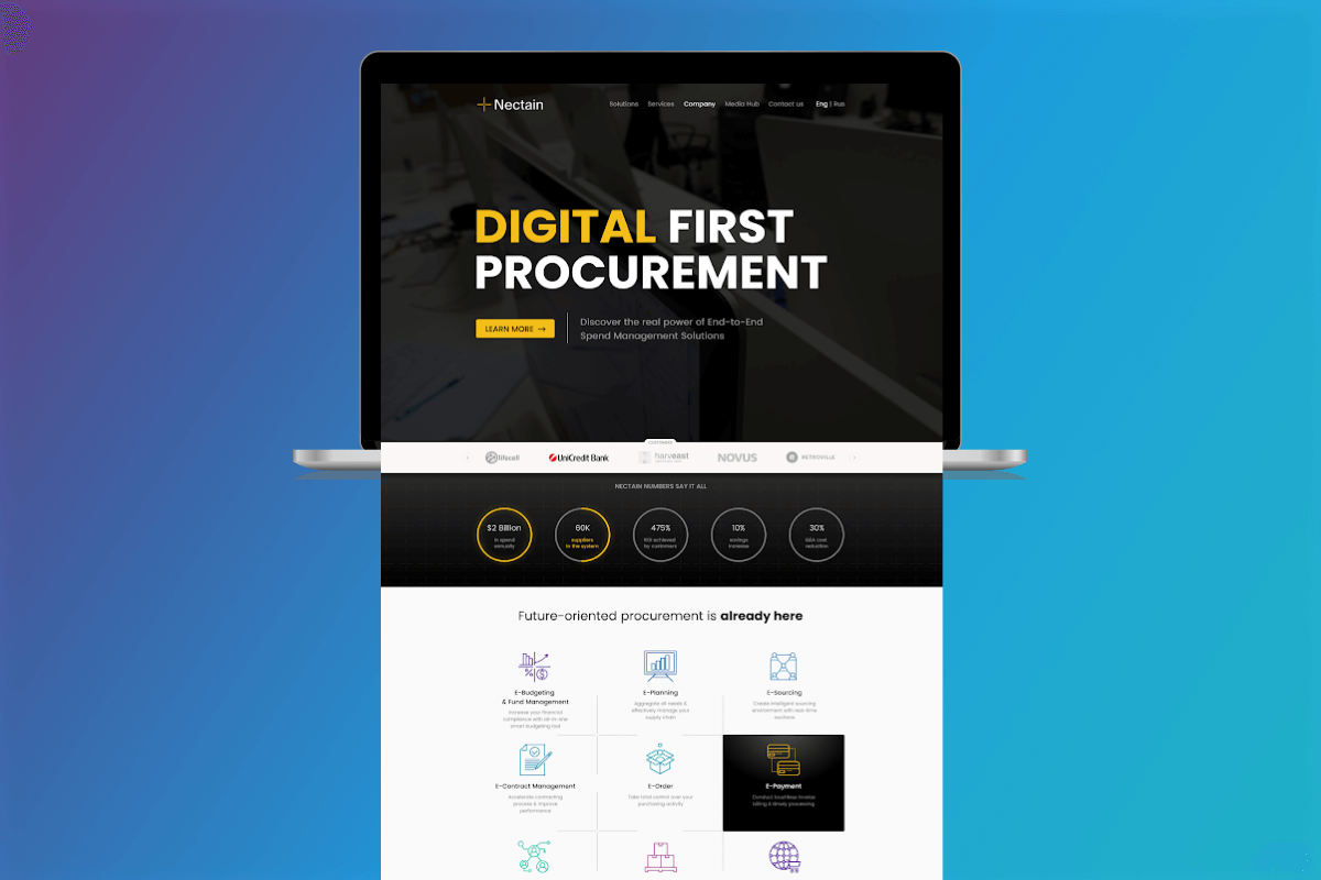 AI Procurement Software: e-payment
