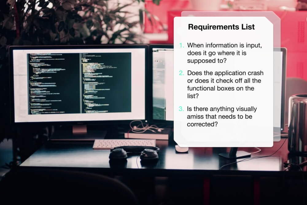 Review Requirements List