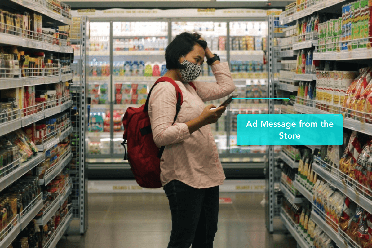 Send Ad Messages to Buyers in the Store