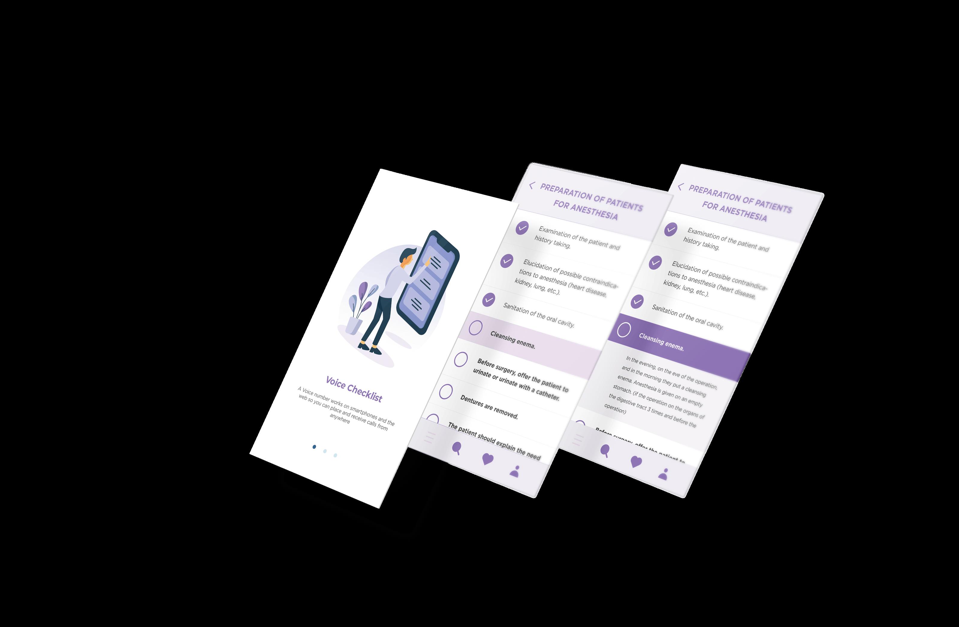 Voice Recognition Checklist App