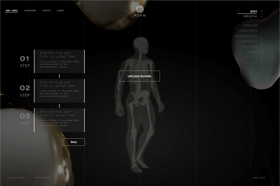 User-friendly interface for medical images storing developed by Softengi