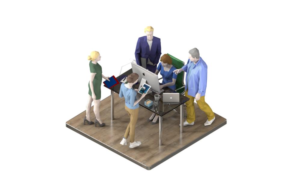 3D Content for Intecrator Web Site | softengi com