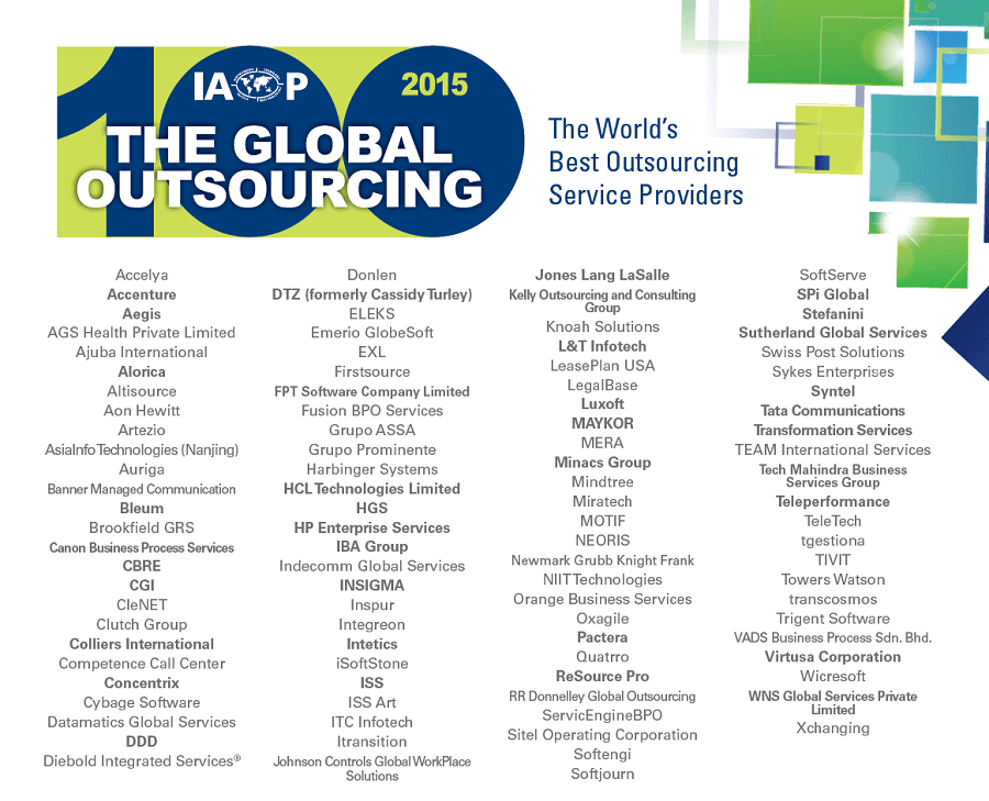 Global Outsourcing 100 List