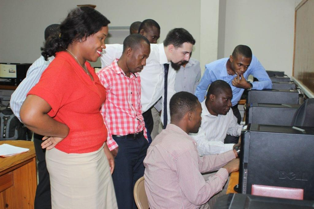 Softengi project for Haitian Government