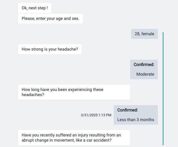 A Chatbot for Preliminary Medical Diagnosis