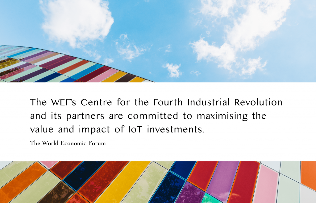 WEF about the future of IoT in EPI